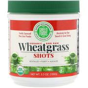 Green Foods   Organic   Raw  Wheatgrass Shots  5 3 oz  150 g