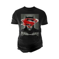 Changes Mens Batman V Superman Ripped Graphic T-Shirt