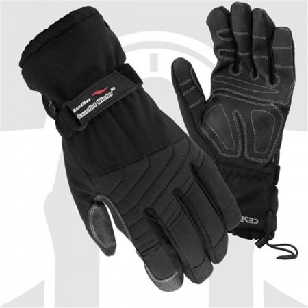 Cestus 5041 2Xl Temp Series Hm Gauntlet Winter Insulated Work One Pair Glove  Black   2 Extra Large