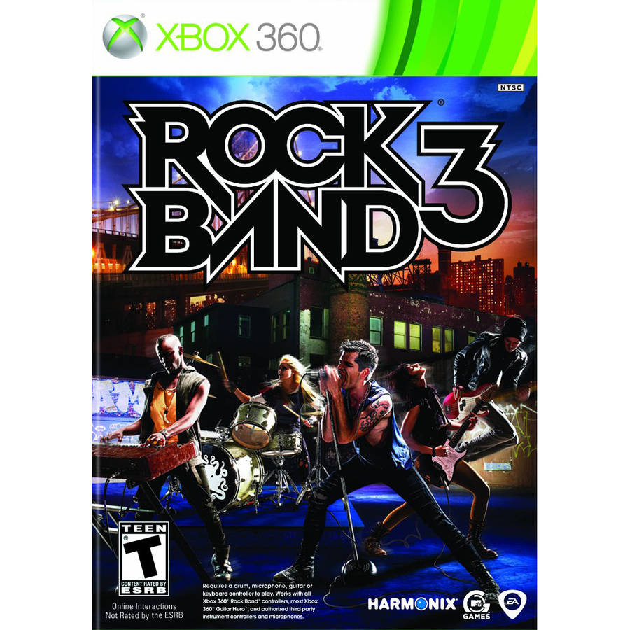Rock Band 3 with Pro Keyboard (Xbox 360)