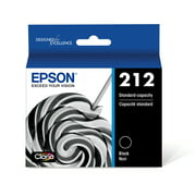 Epson 212 Standard-capacity Black Ink Cartridge compatible with XP4105 & WF2850