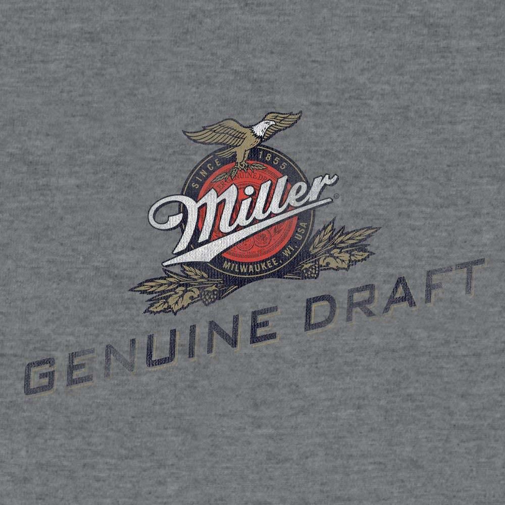 XL new MILLER GENUINE DRAFT lite Basketball  Beer T Shirt tee baseball fishing