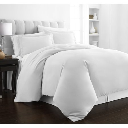 Noble Linens 3 Piece Hotel Collection Luxury Duvet Cover Set ()