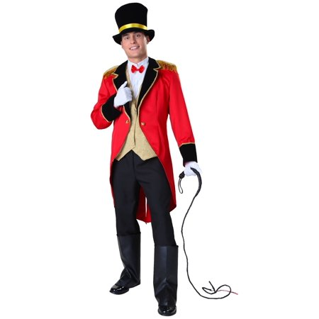Plus Size Ringmaster Costume - Big And Tall Halloween Costumes 5x