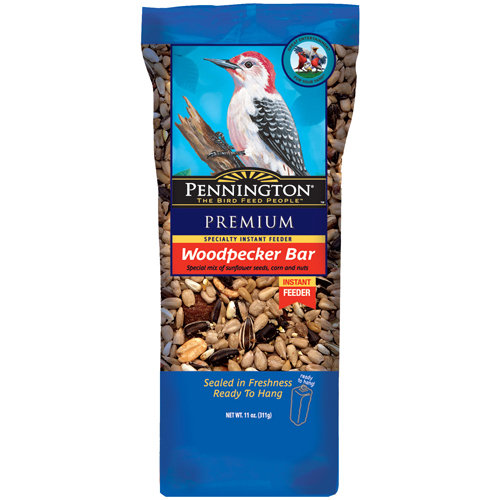 Pennington Woodpecker Bar Wild Bird Seed Cake, 11 oz
