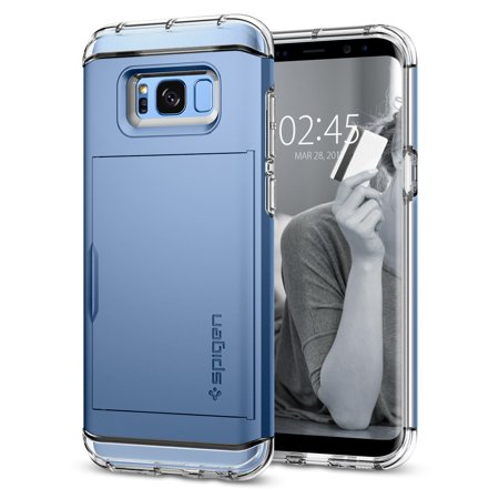 uk availability 356c0 d1581 Spigen Samsung Galaxy S8 Plus Case Crystal Wallet