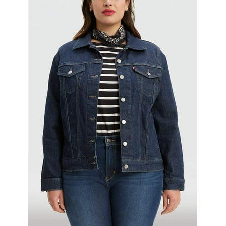 Levi's Women's Plus Trucker Denim Jacket ()