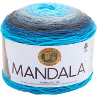 Lion Brand Yarn Madala Spirit Self-Striping Light Acrylic Multi-color Yarn