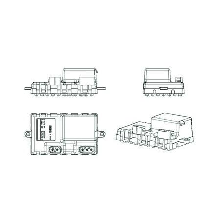 Bmw 525i Blower Motor (HVAC Blower Motor Regulator 351321211 for BMW 525i, BMW 525xi, 530xi )