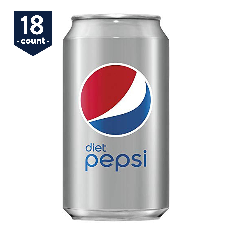 Diet Pepsi, 12 oz Cans, 18 Count