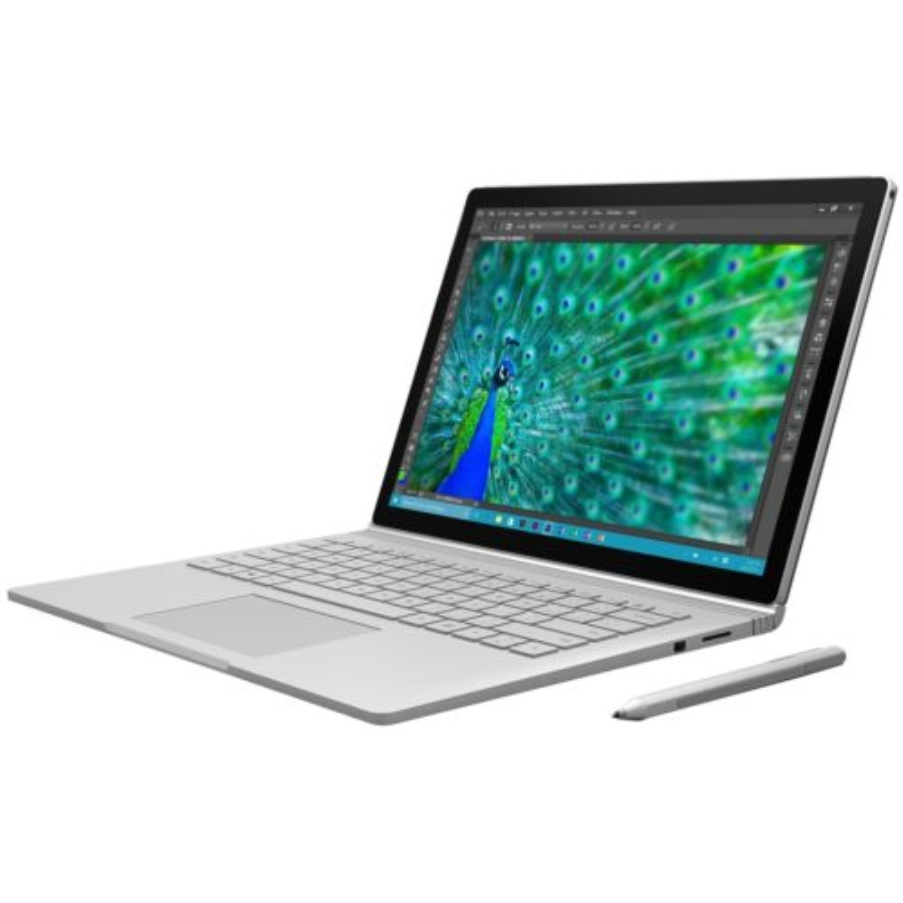 """Microsoft 13.5"""" Surface Book 2-in-1 Notebook 256GB SSD 8GB RAM Core i5 2.4 GHz (Scratches & Dents)"""