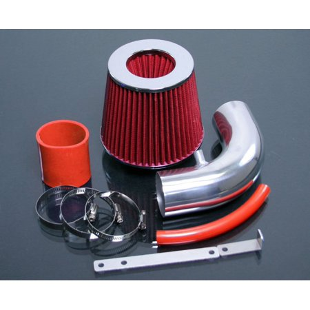 RED 2000 2001 2002 2003 2004 2005 2006 Mini Cooper S 1.6 1.6L Supercharged RAM Air Intake Kit - 2004 Mini Cooper Bumper