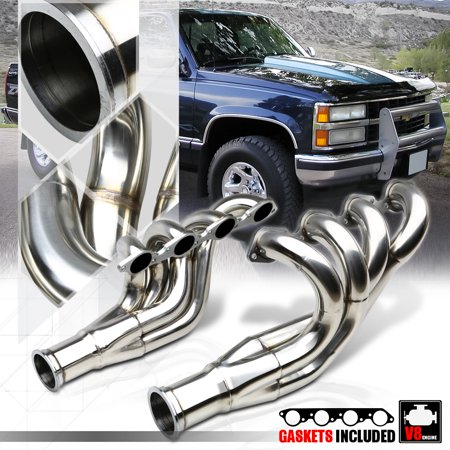 Chevy Truck Exhaust Manifold - SS Mid-Length Exhaust Header Manifold for Chevy BBC Big Block 396-572 Block Top