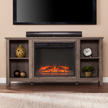 Paxifyre Electric Fireplace TV Stand, For TV's up to 50