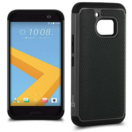 CoverON HTC 10 Case, HexaGuard Series Hard Phone Cover ()