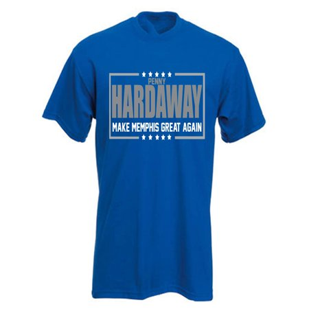BLUE Penny Hardaway Memphis Tigers 2018 T-Shirt ADULT