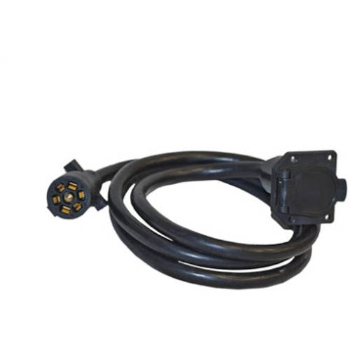 ALEKO TC7E7 7' Trailer Wire Connector 7-Way Extension Harness RV