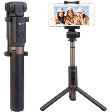 online retailer 8fccf 1da82 iMounTEK Bluetooth Selfie Stick Stretchable with Tripod Stand Detachable  Remote Control for iPhone X Galaxy S9
