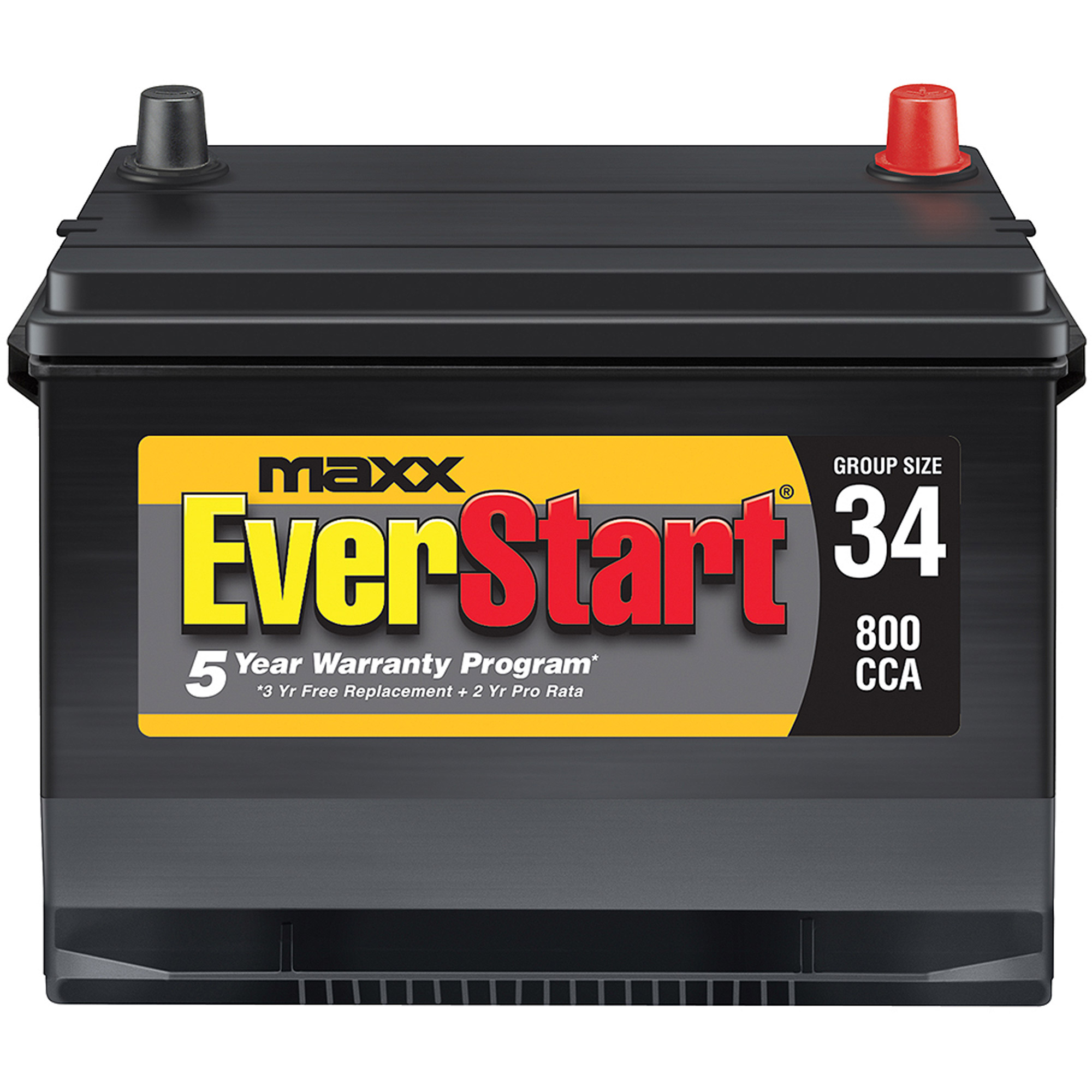 Everstart Maxx Lead Acid Automotive Battery Group 34n