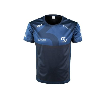 SK Gaming Player Jersey 2018 Blue with sponsors