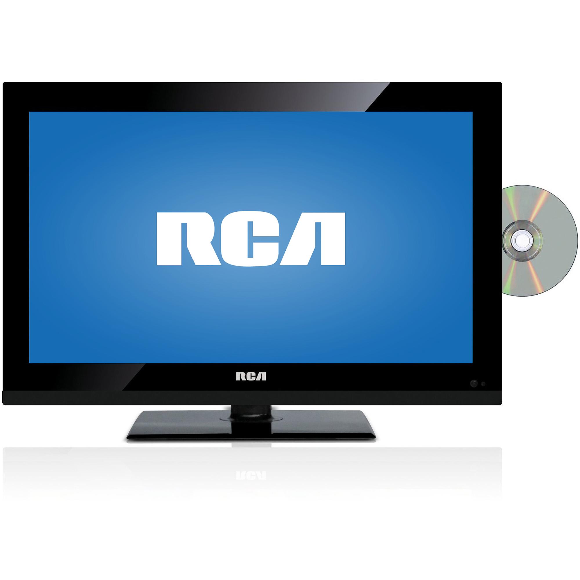 "RCA DECK185R 19"" 720p 60Hz Class LED HDTV/DVD Combo, Refurbished"