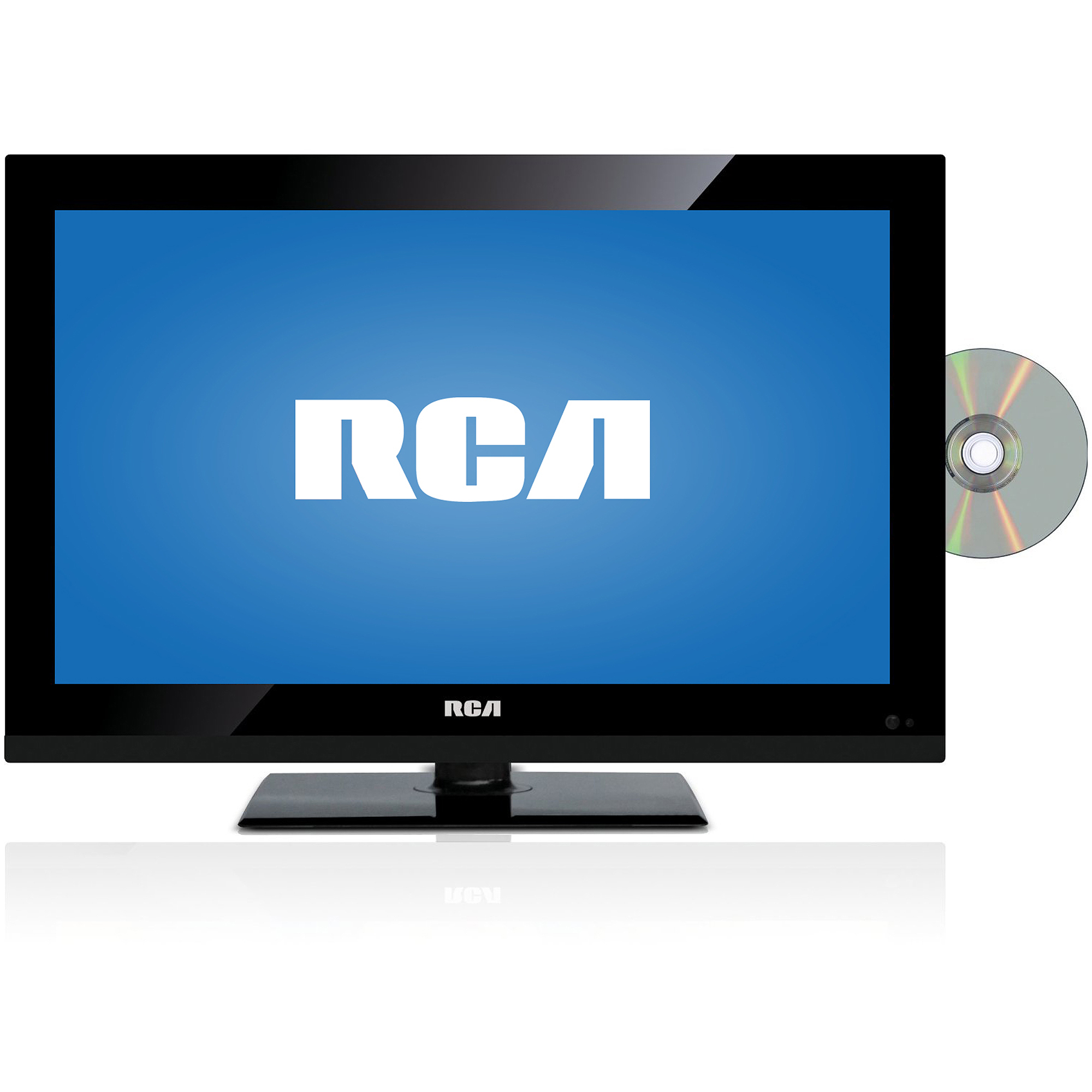RCA DECK185R 19 720p 60Hz Class LED HDTV / DVD Combo, Refurbished