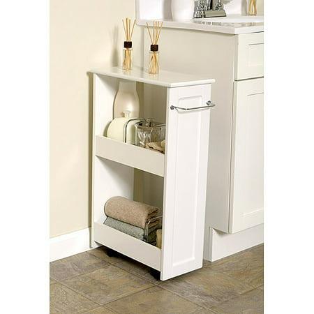 white wood slim organizer. Black Bedroom Furniture Sets. Home Design Ideas