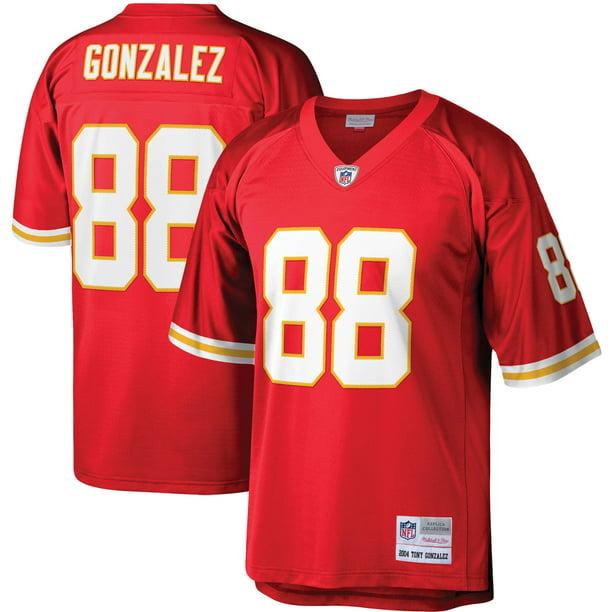 Tony Gonzalez Kansas City Chiefs Mitchell & Ness Legacy Replica Jersey - Red