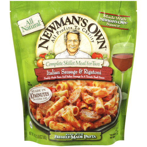 Newman's Own Complete Skillet Meal for Two Italian Sausage & Rigatoni, 24 oz