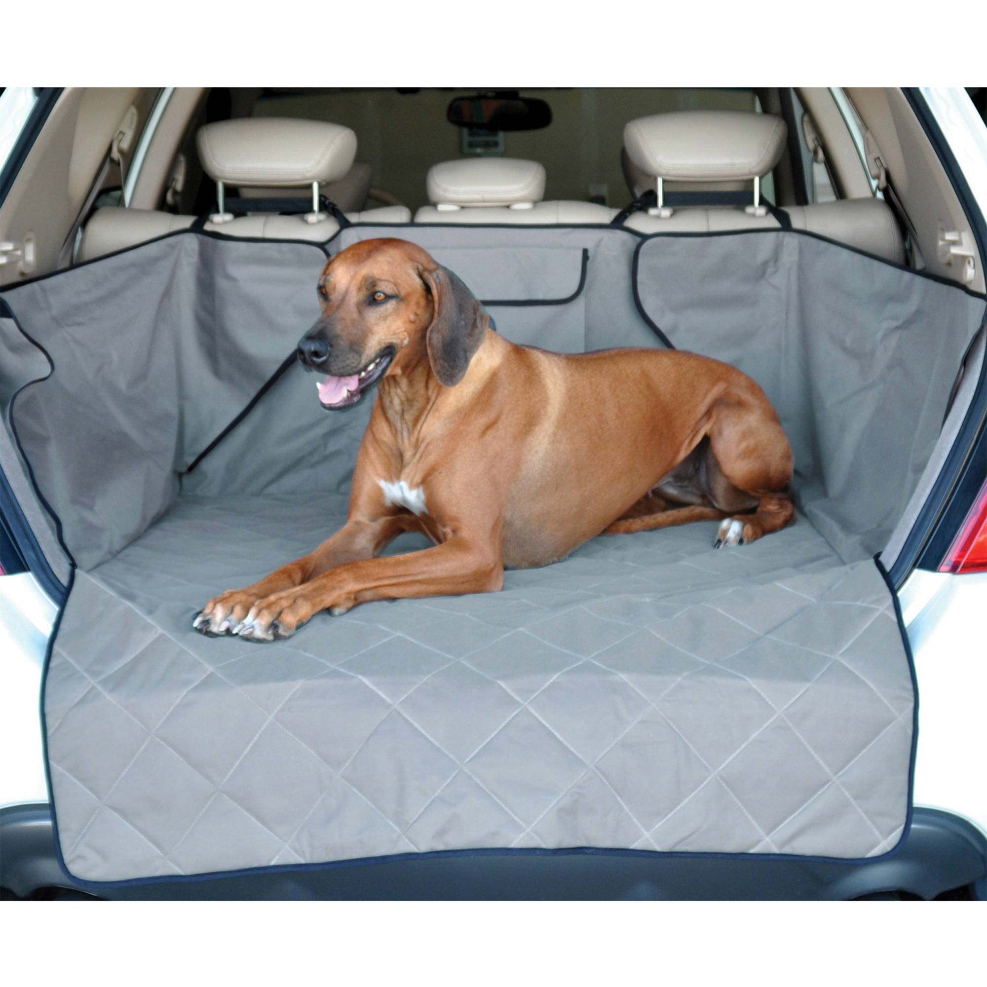 K&H Pet Products Quilted Pet Cargo Cover, Gray