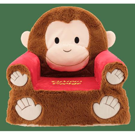 - Sweet Seats Curious George Soft & Plush Kids Chair, 14