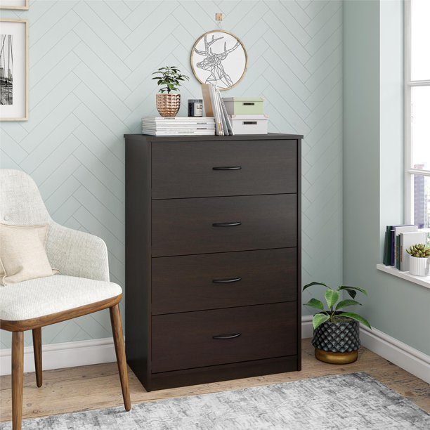 Mainstays Clic 4 Drawer Dresser