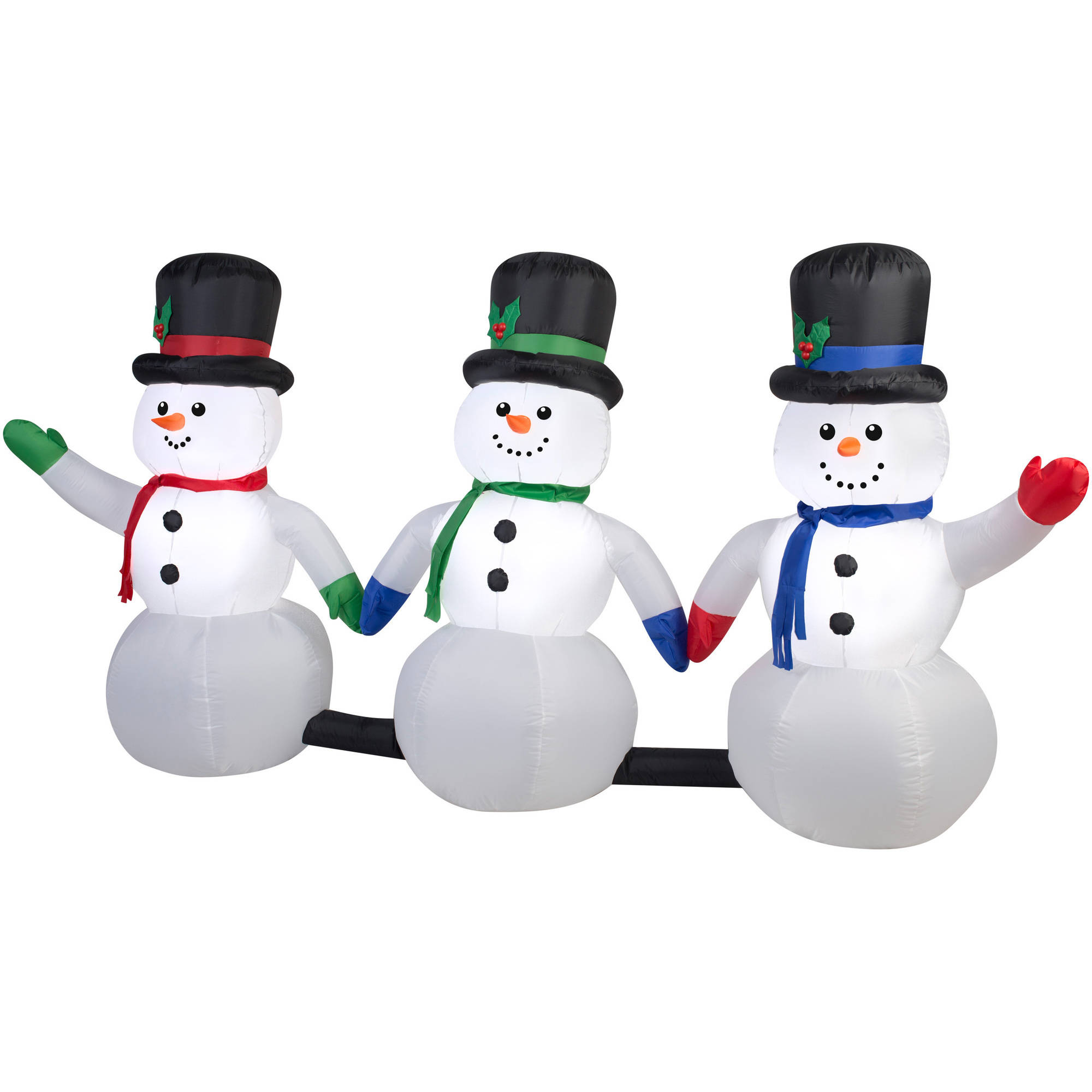 Outdoor Light Up Snowman Christmas