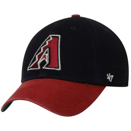 Arizona Diamondbacks '47 Franchise Batting Practice Fitted Hat - Black/Red