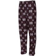 Mississippi State Bulldogs Youth NCAA Printed Logo Pajama Pants