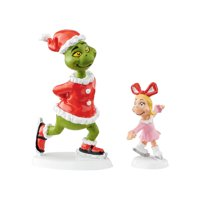 Department 56 Village The Grinch and Cindy Lou Who Skating Figurine 4054587 New