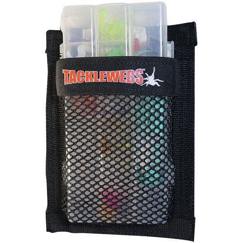 "Tackle Webs 7"" x 9"" Black Hook and Loop"