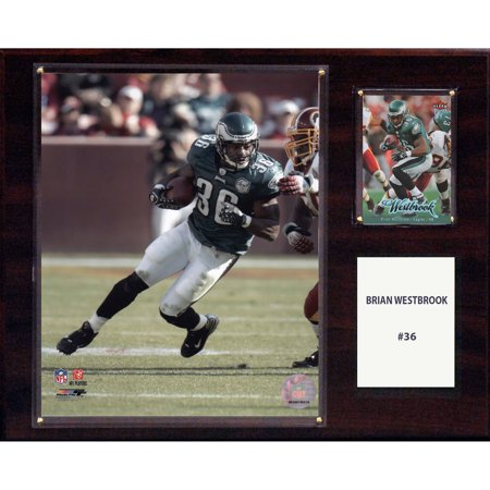 - C&I Collectables NFL 12x15 Brian Westbrook Philadelphia Eagles Player Plaque