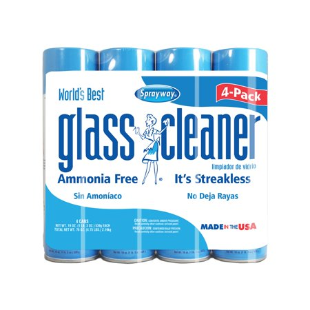 Branded Sprayway Glass Cleaner (19oz., 4pk.) Pack of 1