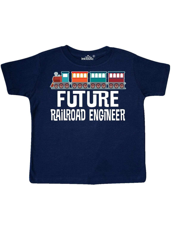 Future Railroad Engineer Train Toddler T-Shirt