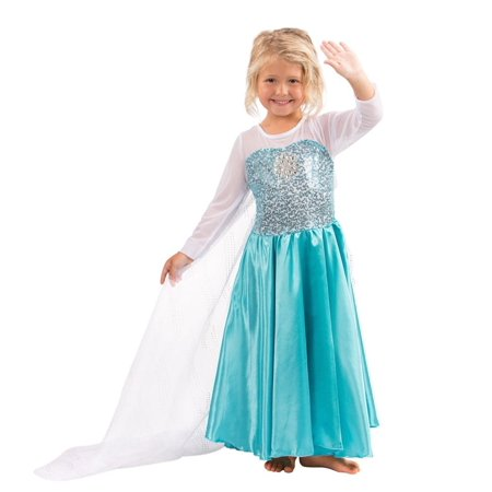 Butterfly Craze Girls Snow Queen Costume Snow Princess Dress - 2 Years
