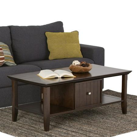 Simpli Home Acadian Coffee Table