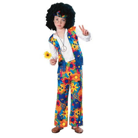 Kid's 60s Hippie Costume - 60s Hippie