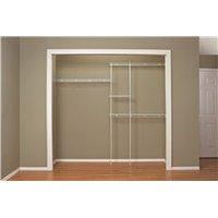 Closetmaid Expandable Closet Organizer, 5 Ft. To 8 Ft.
