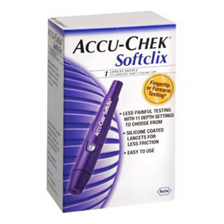 accu chek softclix lancet device instructions