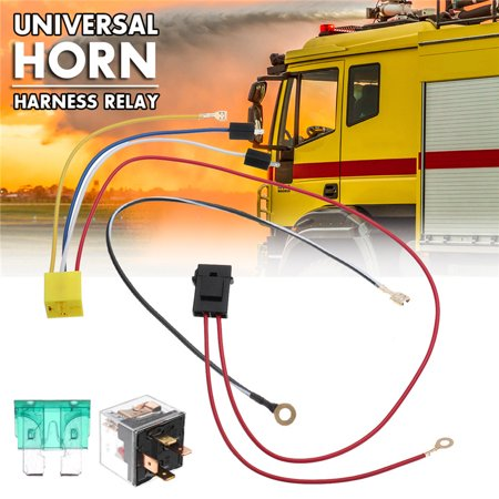 - Universal Car Horn Relay Harness 12V Car Styling Parts High Quality car horn wiring harness Portable&Durable