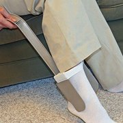 Simple & Stress-free Sock Aid Deluxe For All Socks & Doubles As A Shoe Horn