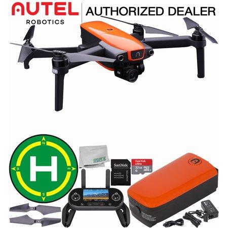 Autel Robotics EVO Foldable Quadcopter with 3-Axis Gimbal Starters Landing Bundle