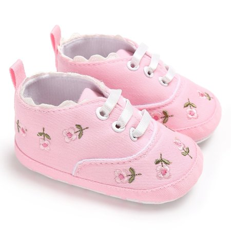 Flower Baby Kid Girl Soft Sole Crib Toddler Summer Princess Shoes Advice 0-18 Months - image 5 of 5