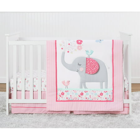 Parent's Choice Nursery Set, 3 Piece Set, Pink Elephant